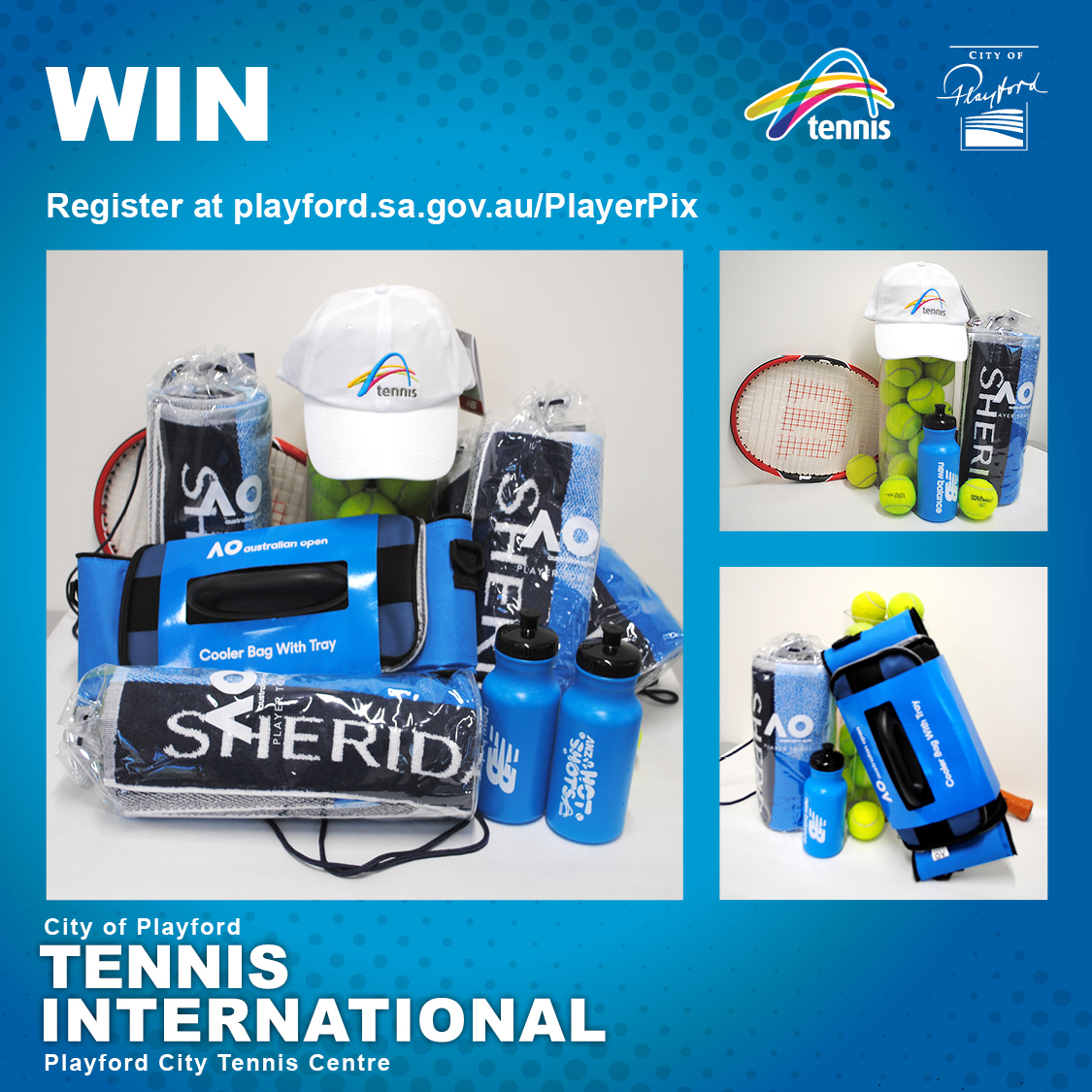 Playford Player Pix Prize Pack