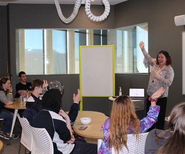 Young entrepreneurs taste life at the Stretton Centre